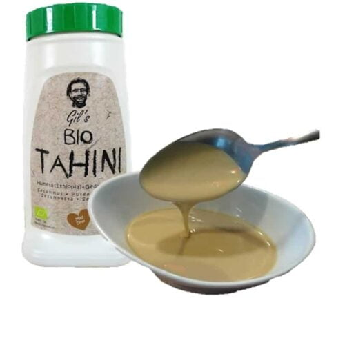 Bio Tahini (Tahin, Sesam Pasta, Sesammoes)