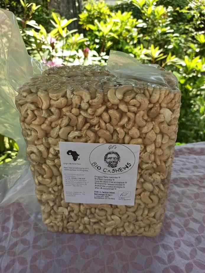 cashewnüsse organic cashew nuts 5kg 3